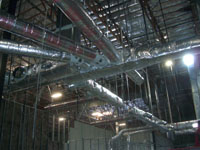 Installed ductwork